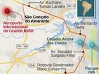 Tarifa de táxi do Aeroporto Aluízio Alves será fixada em R$ 2 por Km