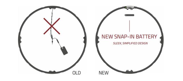 Nova bateria portátil evita uso de fios na bicicleta (Foto: Reprodução/Indiegogo)