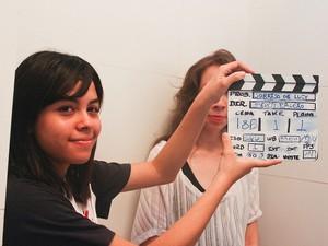 A estudante Mariana sonha em fazer cinema (Foto: Veriana Ribeiro/G1)