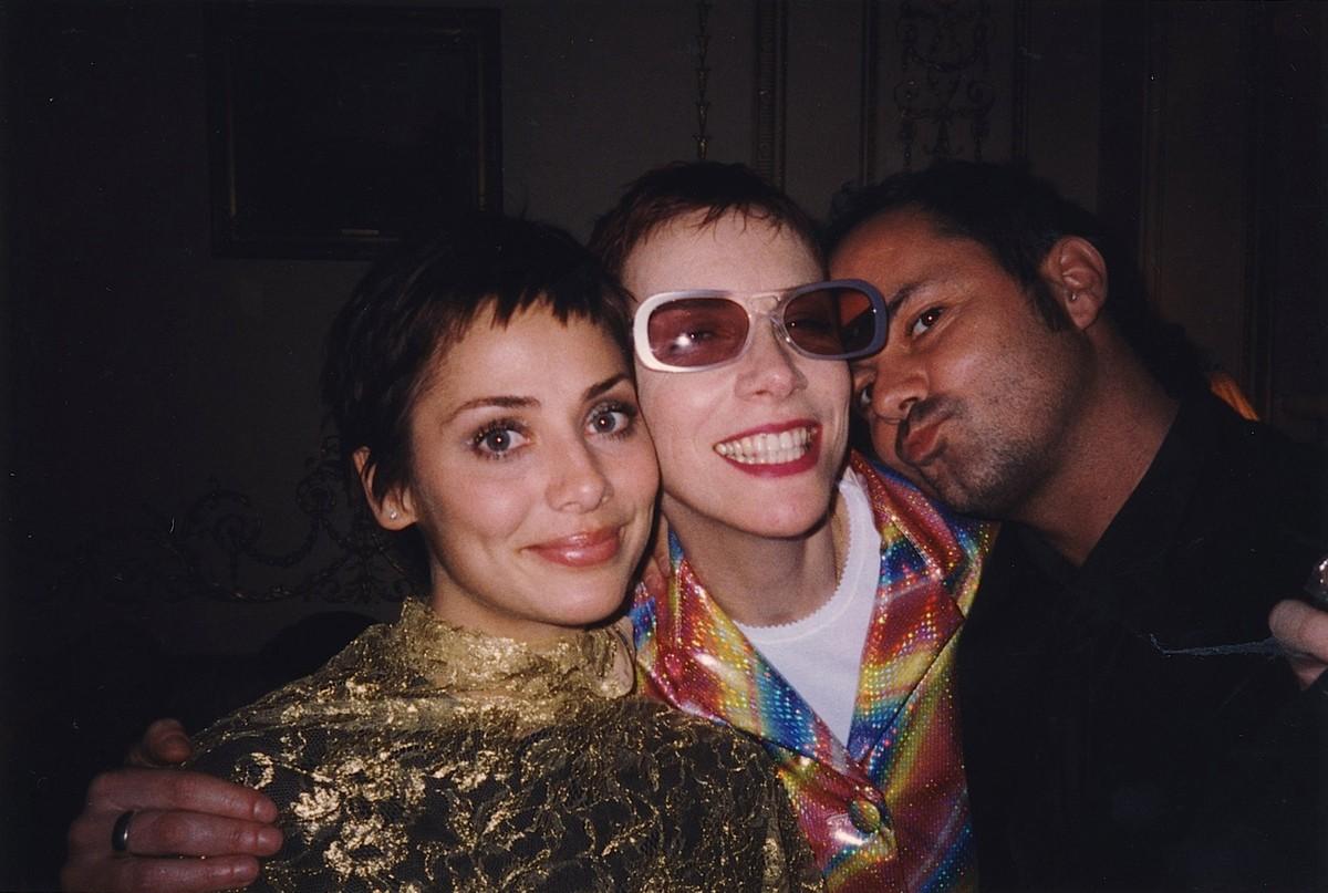 Natalie Imbruglia e Annie Lennox. (Foto: Divulgação)