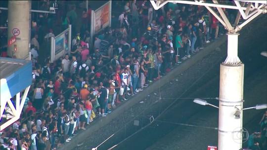 Falha paralisa trecho de linha da CPTM na Zona Leste de São Paulo