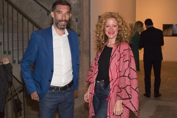 Gregory Bousquet e Carol Bueno (Foto: Janssem Cardoso)