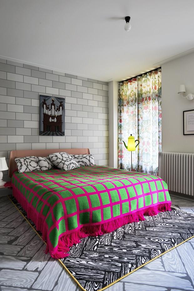 Decoração lúdica revoluciona apartamento dos anos 1920 (Foto: Dennis Brandsma/Divulgação)