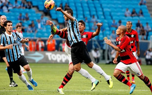 digão flamengo souza grêmio brasileirão (Foto: Wesley Santos / Pressdigital)
