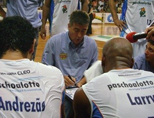 Guerrinha tentou acertar o time  (Foto: Alan Schneider/Globoesporte.com)