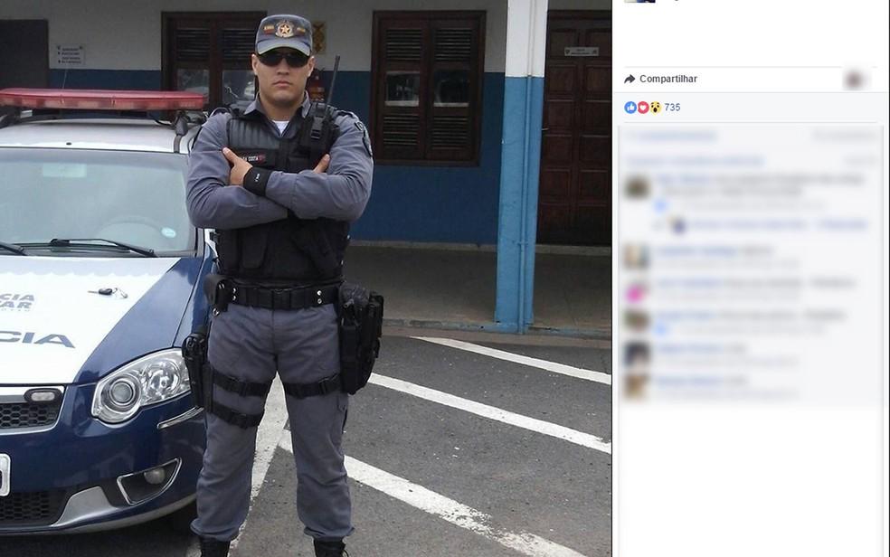 Kenedy Campos da Costa morreu após ser baleado em Cuiabá (Foto: Facebook/Reprodução)