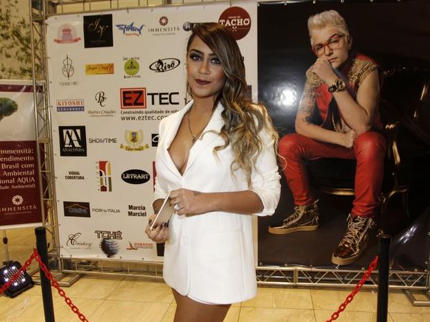 Rafaella Santos no aniversário de MC Gui em São Paulo (Foto: Celso Tavares/ EGO)