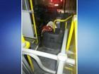 Motorista de ônibus esfaqueado em Joinville recebe alta e deve depor