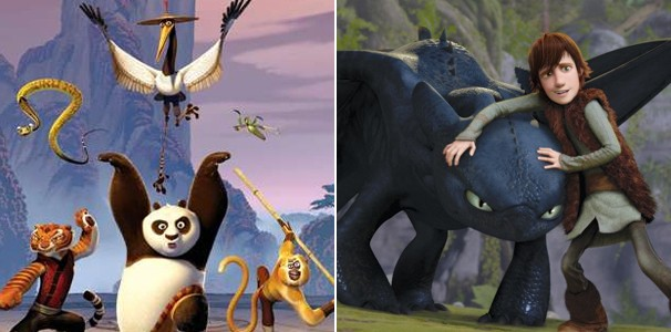 Veja também 'Kung Fu Panda' e 'Como Treinar o Seu Dragão' (Foto: Divulgação/Reprodução)