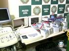 Polícia prende quadrilha que roubava equipamentos hospitalares no Rio