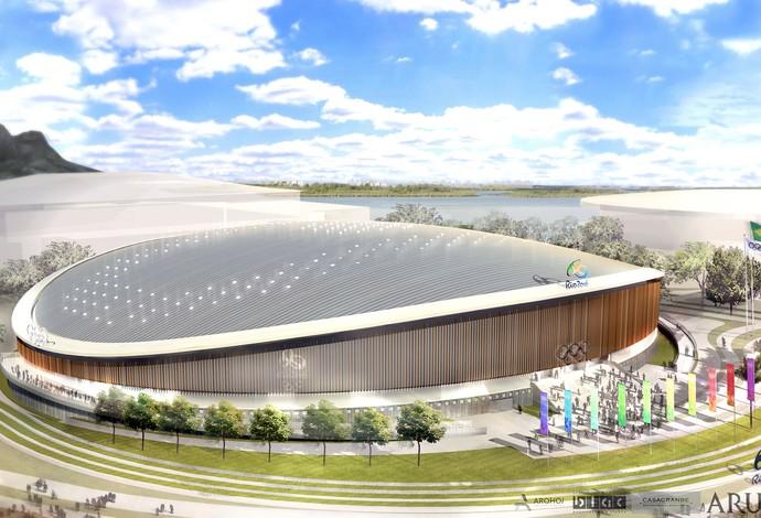 Parque Olímpico - Velódromo (Foto: Renato Sette Camara / EOM)