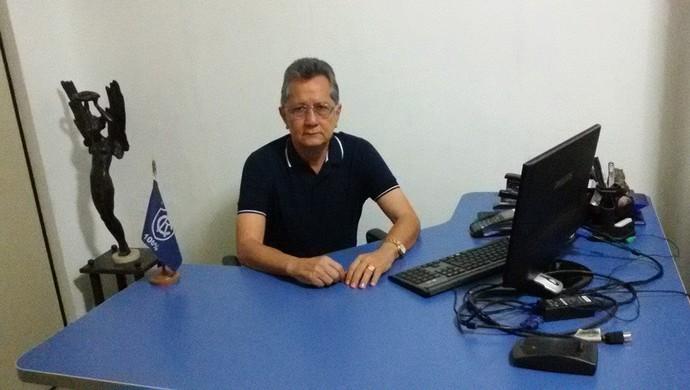 """""""Cheguei. Vai começar o trabalho"""", disse Minowa, novo presidente do Remo, nesta segunda-feira (Foto: Reprodução/Facebook)"""