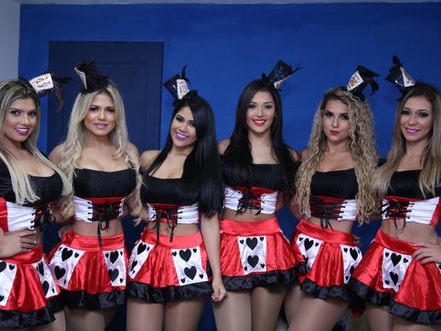 Dançarinas do Aviões do Forró, em Natal, no Rio Grande do Norte (Foto: Fred Pontes/ Divulgação)