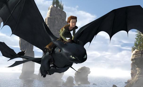 Menino viking se torna amigo de dragão (Foto: Divulgação / Reprodução)