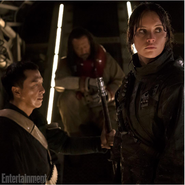 Felicity Jones como Jyn Erso em 'Rogue One' (Foto: Instagram)