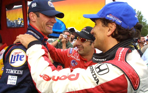 Max Papis, Tony Kanaane Alex Zanardi (Foto: Getty Images)
