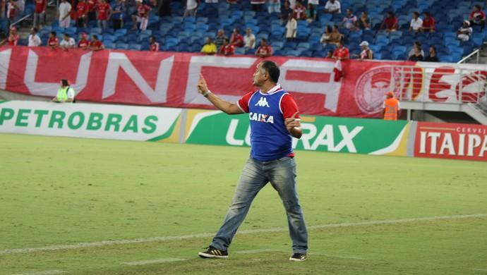 Oliveira Canindé, técnico do América-RN (Foto: Diego Simonetti)