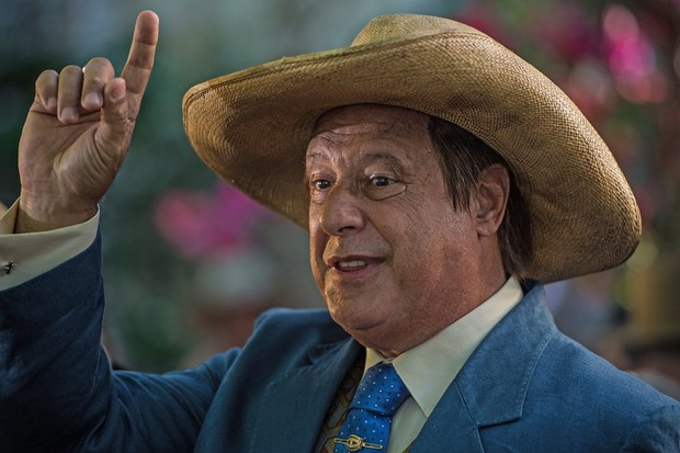 Antônio Fagundes como coronel Afrânio na nova fase de Velho Chico (Foto: Caiuá Franco/Globo)