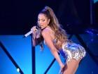 Aos 45 anos, Jennifer Lopez abusa da sensualidade em show