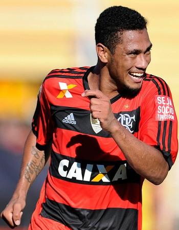 hernane Flamengo x Macaé (Foto: Fabio Castro/Agif/Agência Estado)