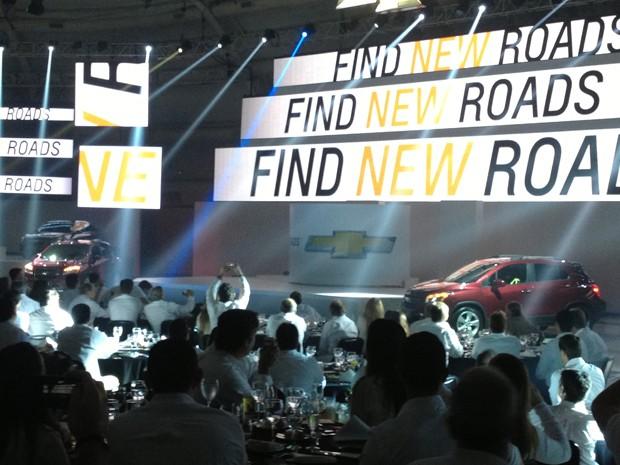 Chevrolet apresentou o Tracker neste domingo (14) (Foto: Divulgação)