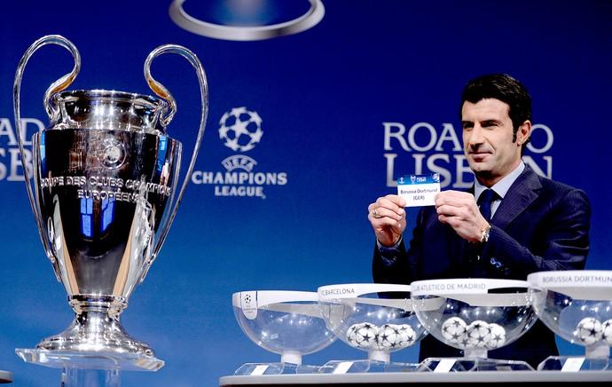 sorteio Liga dos Campeões taça (Foto: AFP)