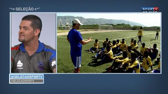 Técnico do Pérolas Negras exalta carinho dos brasileiros com haitianos