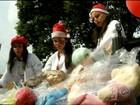 'Doutores do Sorriso' distribuem brinquedos para crianças