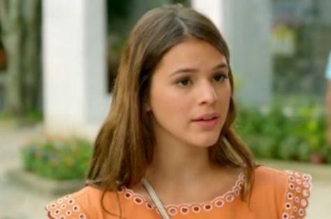 Bruna Marquezine, a Luiza de 'Em família' (Foto: Reprodução)