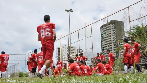 Sergipe Bravos treina para Liga NE e Brasileiro (Foto: Divulgação/Bravos)