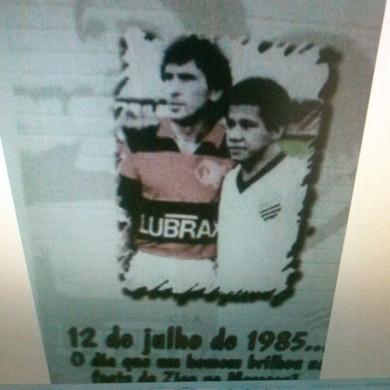 Zico e Jacozinho (Foto: Reprodução Internet)