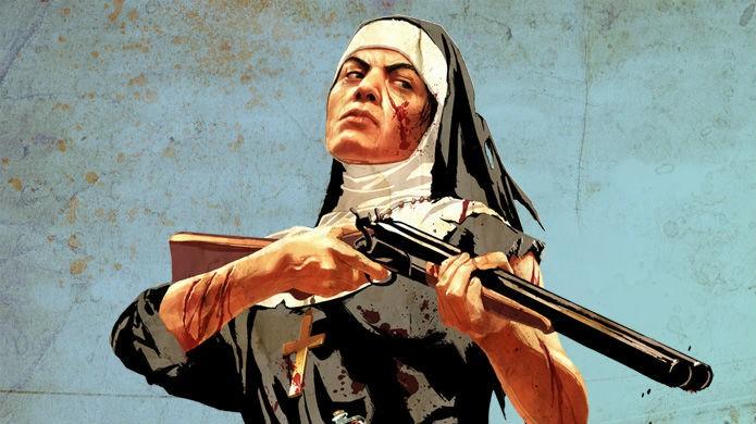 Em Red Dead Redemption até as freiras escondem easter eggs (Foto: Divulgação/Rockstar)