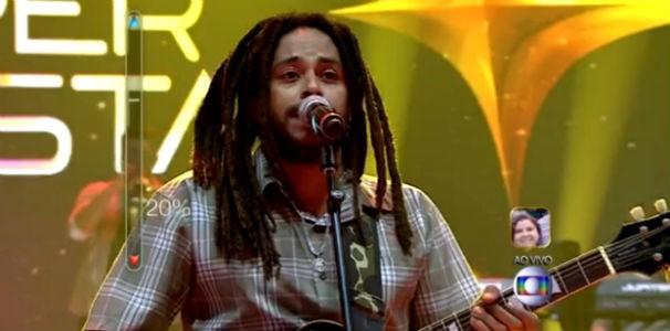 Com 78% dos votos, banda alagoana 'Vibrações' conquista segunda maior votação da noite  (Foto: Reprodução/ Rede Globo)