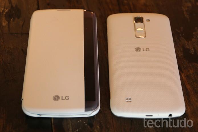 LG K10 (Foto: Fabrício Vitorino/TechTudo)