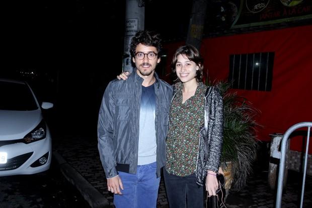 Jesuíta Barbosa e Luisa Arraes (Foto: Marcello Sá Barretto / AgNews)