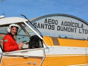 Jovem iniciou carreira na aviação há cerca de 5 meses, segundo família (Foto: Fernando Strapazzon/Arquivo Pessoal)