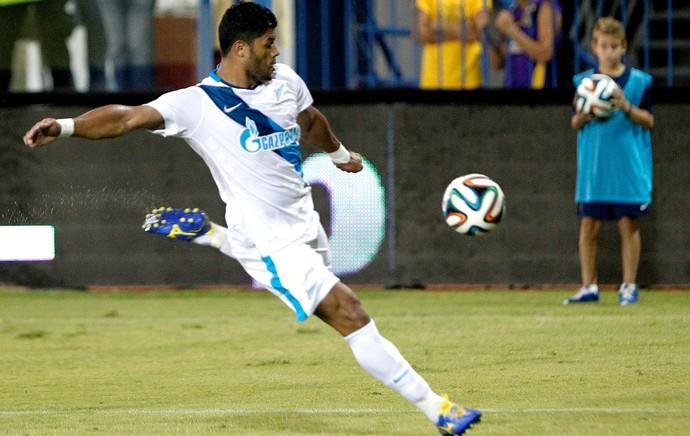 Hulk Zenit AEL Liga dos Campeões (Foto: Reprodução / Site Oficial)