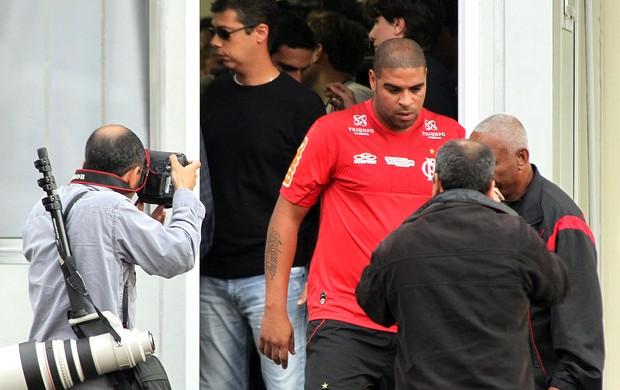 Adriano, Flamengo (Foto: Bernardo Monteiro / VIPCOMM)