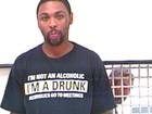 Veja camiseta 'estou bêbado' e outras estampas curiosas na hora da prisão