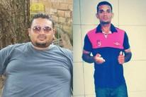 Pedreiro perde mais de 50kg por conta própria e sonho de jogar bola (Divulgação)