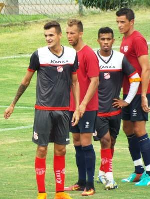 Capivariano x Desportivo Brasil jogo-treino (Foto: Lucas Oliveira / Capivariano FC)