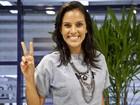 Ex-The Voice Ju Moraes acompanha gravação da quinta e última Audição