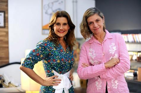 Simone Zuccolotto e Carla Camurati (Foto: Juliana Torres)