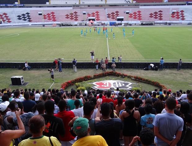 Treino seleção Brasil recife (Foto: Elton Castro / Globoesporte.com)