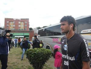Willian José deve começar o ano como titular do Grêmio (Foto: Robson Stefani/RBS TV)