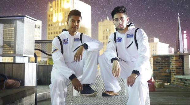 Rohith Varanasi e Hunter Rosenblume, fundadores da Lunar Wireless (Foto: Divulgação)