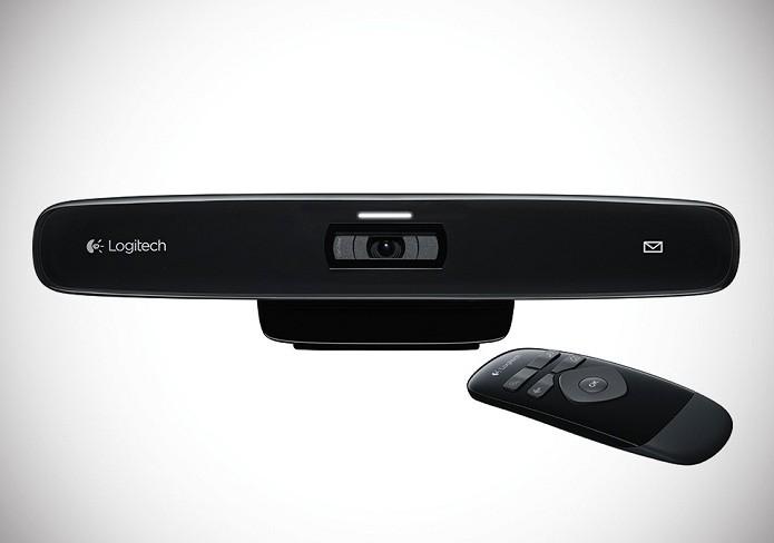 Modelo da Logitech faz vídeos em 720p (Foto: Divulgação/Logitech)
