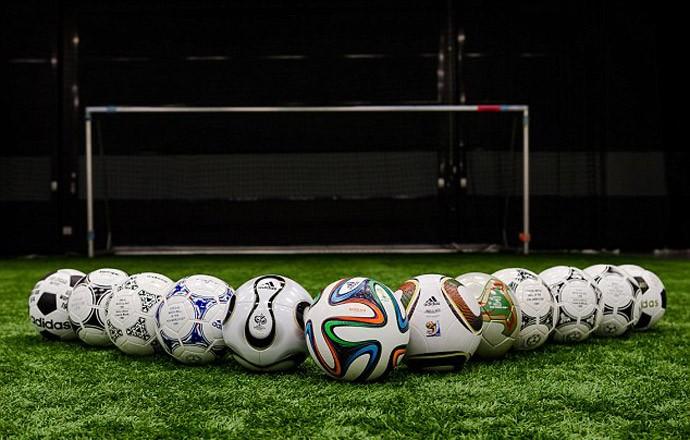 bola Brazuca Cavani (Foto: Divulgação / Adidas)