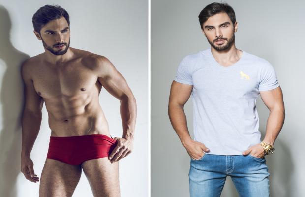 Goiano está há mais de dois meses se preparando para competição Goiás Itapuranga Mister Mundo Goiás (Foto: Divulgação/João Valentino)