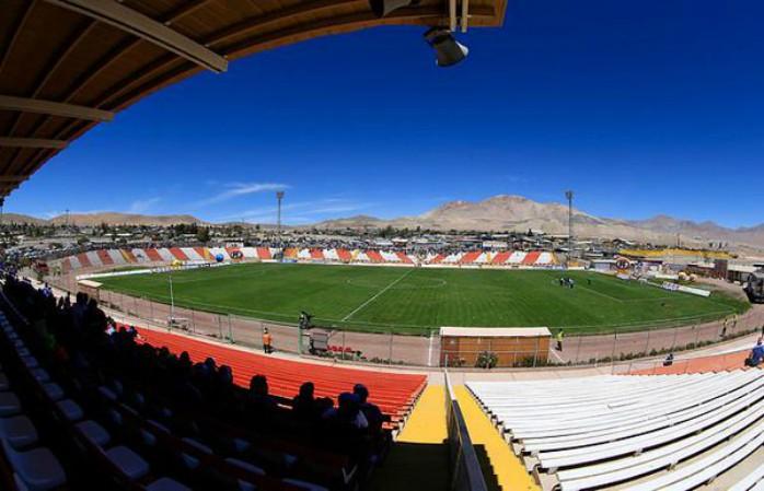 Estádio El Cobre Cobresal Corinthians Libertadores